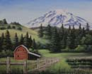 Mt.Adams 16x20 Woil/Oil $10.00